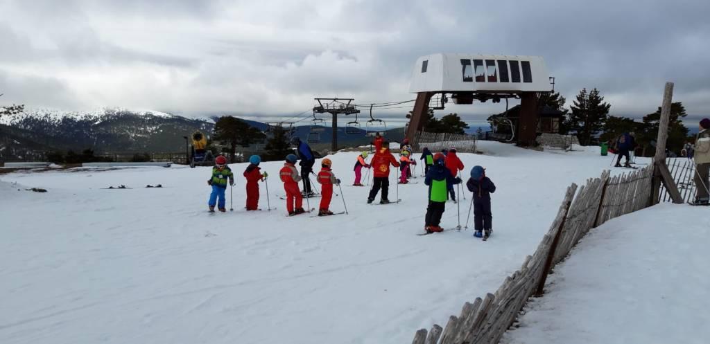 Grupo de iniciación Esquí